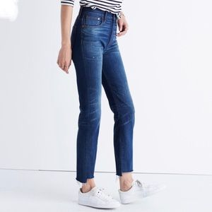MADEWELL Distressed The Perfect Vintage Jeans
